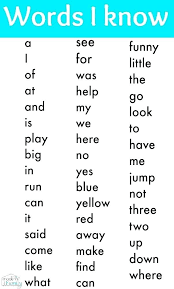 Free Kindergarten Sight Word Worksheets Free Sight Word Worksheets ...