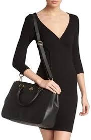 tory burch robinson double zip double zip robinson double zip tote in black