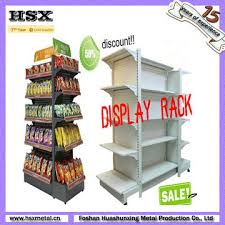 Retail Product Display Stands retail store floor product display stands with shelf and hooks 19
