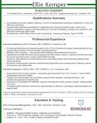 Executive Resume Samples 2016 Experience Resumes