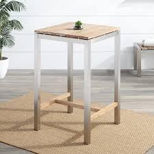 whitewash outdoor furniture. macon square teak outdoor bar table whitewash furniture t