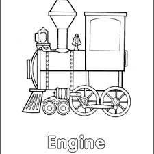 Train coloring pages printable coloring pages for kids: Homeschooling Trains Coloring Book