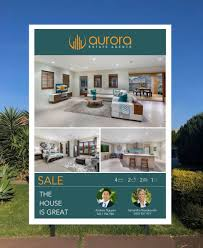 Real Estate Board Design Entry 8 By Conceptgraphic For Design A For Sale Real Estate