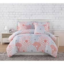 awesome stella c grey twin xl comforter sets with cute pilows and white nightstand plus grays rugs on laminate wood flooring