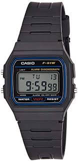 <b>Casio</b> Collection Unisex Adults <b>Watch</b> F-91W-1YER: Amazon.co.uk ...
