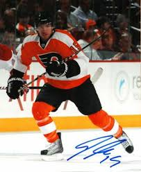 Autographed Signed Andreas Nodl 8X10 Photo Philadelphia Flyers