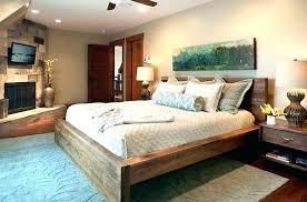 rustic wood beds wooden bed frames image of best frame plans king size diy
