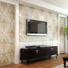 bedroom wallpaper designs. Vintage Style Wallpaper Bedroom Embossed Non Woven Wallpapers Luxury Wall Paper Mural Room Designs .