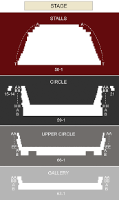 Barbican Theatre London Seating Chart Stage London