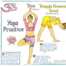 Yoga Chart Liz Cook Charts