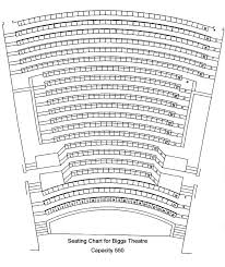 Trustees Theater Seating Chart Theatre Specifications Ohio Northern University