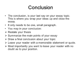 essay writing grade mr macphee lessons to be discussed  conclusion the conclusion is your last say on your essay topic