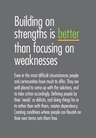 Strengths Weaknesses Building On Strengths Is Better Than Weaknesses A Better Way
