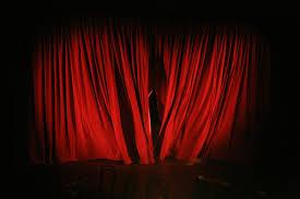 23 Red Velvet Curtains Drapes Velvet Theater Absolute Blackout Pertaining  To Dark Red Velvet Curtains (