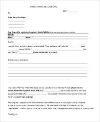 Complaint Format 100 Complaint Letters in PDF 49