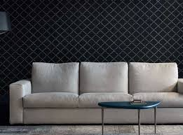 This modern Italian Sofa is available in multiple fabric selections or  luxury full grain leather sofas. The three seater version and the sectional  layout ...