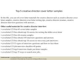 sample creative cover letters top5creativedirectorcoverlettersamples 150618023559 lva1 app6892 thumbnail 4 jpg cb 1434595010