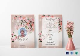 Funeral Invitation Template Gorgeous 48 Funeral Invitation Templates PSD AI Free Premium Templates