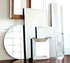 silver floor mirror full length with jewelry storage44 mirror