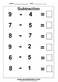 Kindergarten 3 Kindergarten Subtraction Worksheets / FREE ...