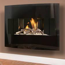 flavel castelle slimline wall mounted gas fire flames co uk