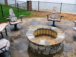 image of diy fire pit kit table