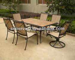 tile outdoor table. Table Stacked Stone Modern Concept Tile Top Patio And Furniture Dining Buy Outdoor W