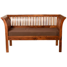 induscraft seasoned treated sheesham wood 4 seater sofa set sofas home18