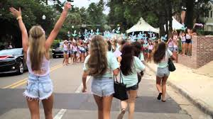 Total Frat Move Delta Gamma Bid Day At FSU Is Way Hot