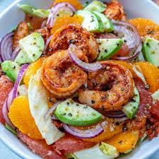 Easy Citrus Cajun Shrimp Salad Recipe ...