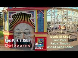 Palais Theatre Seating Chart Luna Park Palais Theatre In St Kilda In Melbourne By Drone 2 7k 60fps