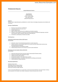 Cover Letter For Driving Job With No Experience Cover Letter For Phlebotomist With No Experience Phlebotomy