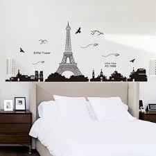 Paris Decoration For Bedrooms Pegatina De Pared Vinilo Adhesivo Decorativo Para Cuartos