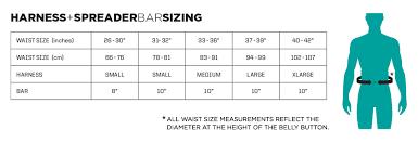 Engine Size Chart Ride Engine Hex Core Green Kitesurfing Waist Harness L Size