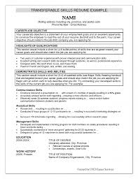 Transferable Skills Resume Template Pin By Vio Karamoy On Resume Inspiration Pinterest Resume Skills 4