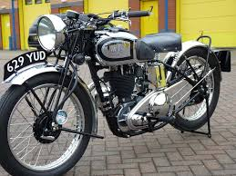1938 ajs silver streak 350cc motorcycles for sale vin and vet