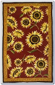 e3321298 sunflower kitchen rug delicate sunflower kitchen rug floor mat sunflower kitchen area rugs