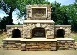 outdoor gas fireplace kits insert kit home depot stone for