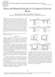 Beam Design Formulas Pdf Shear And Moment Strength Of A Composite Concrete Beam