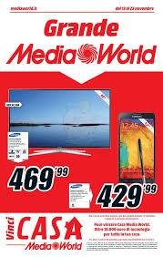 Volantino Media World - Grande Media World - novembre 2014 a partire dal  13/11/2014 e fino al 23/11/2014