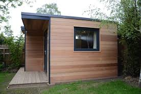 home office in the garden. Garden Office In Surrey Modern-home-office Home The N