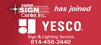 1 Yesco Sign Maintenance Partners In Columbus Oh
