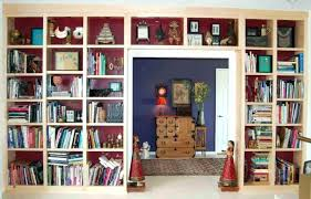 natural maple wall floor ceiling built bookshelves with regard to plan 8 shelf design library bookcases plans books