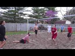 How To Construct A Volleyball Court Photo On Remarkable Outdoor Backyard Beach Volleyball Court