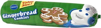 pillsbury gingerbread cookies. Pillsbury Gingerbread Cookie Dough Throughout Cookies