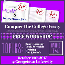 washington d c college essay workshop th am pm com are partnering to host a essay writing workshop for underrepresented minority high school students in washington d c rather
