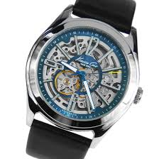 kenneth cole automatic skeleton dial mens watch kc1768