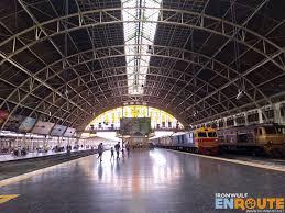 hualamphong station in bangkok