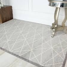 easy living grey geometric rug and white uk