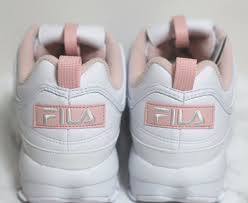 fila disruptor 2 pink. fila disruptor ii 2 women pink flamingo shoes authentic us size before christmas fila disruptor